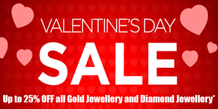 Valentines Day Sale 25% Off